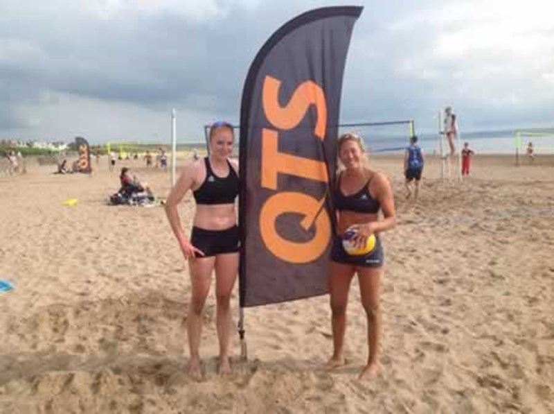 QTS supports Troon Beach Volley Ball Tournament 2013.