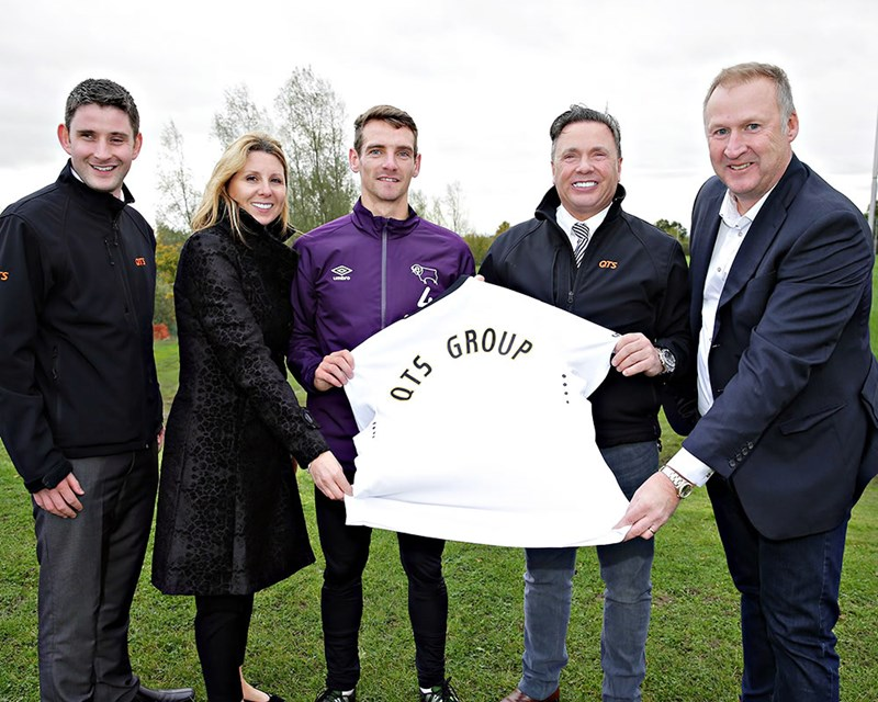Derby County Welcome QTS Group as a Club Partner