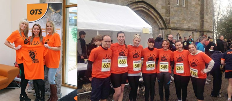 QTS Team enter Muddy Trials for Yorkhill