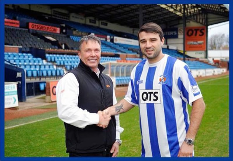 New Signing at Killie