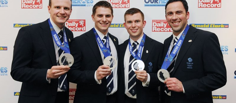 QTS Sponsor Sports Awards at Daily Record's Our Heroes Awards 2014