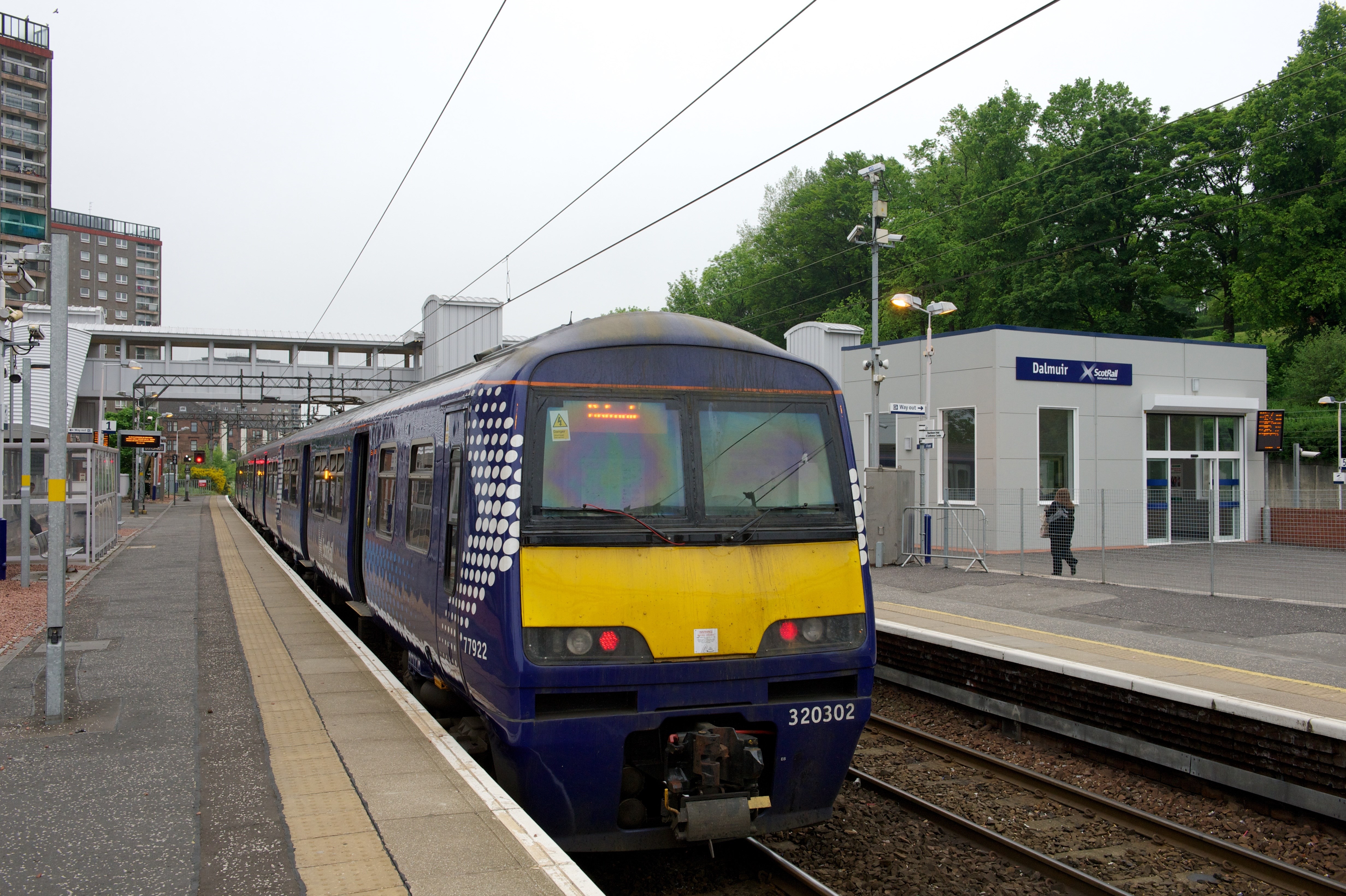 Dalmuir Station