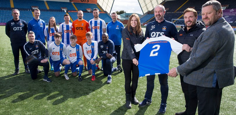 QTS agrees further two year deal with Kilmarnock FC - 8 year run makes QTS the club's longest serving  shirt sponsor