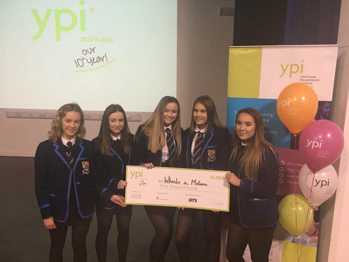 QTS TO SUPPORT YOUTH PHILANTHROPY ACROSS AYRSHIRE