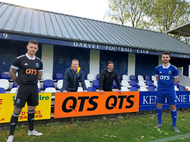 Darvel FC scores with goliath QTS sponsorship deal